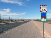 Historic Route 66 — Stock Photo