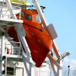 Stock Photo: Freifallrettungsboot - Freefall Lifeboat