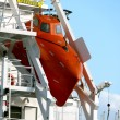 Freifallrettungsboot - Freefall Lifeboat — Stock Photo #3869494