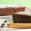 Chocolate cinnamon bread — Stock Photo #3459820