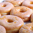 Glazed doughnuts — Stock Photo
