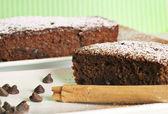 čokoládové skořicový chléb — Stock fotografie
