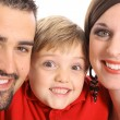 Gorgeous family portrait — Stock Photo #3460228