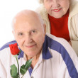 Shot of happy seniors portrait — Stock Photo