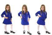 Business suit triplets — Stock Photo