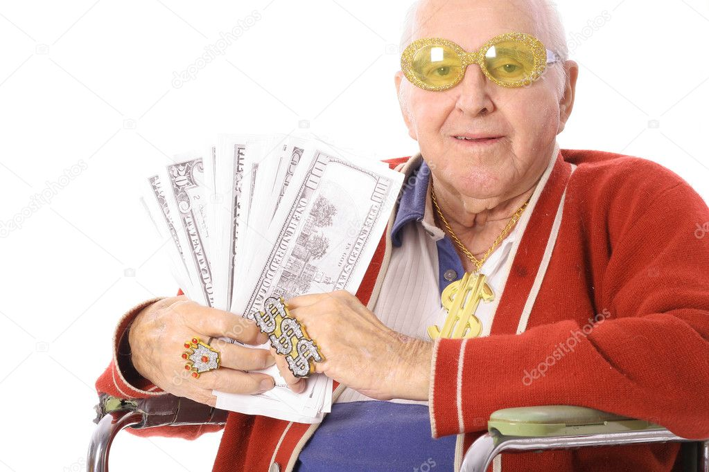 Senior bling   Stock Photo #3469233