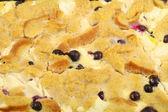 Blåbär franska toast — Stockfoto