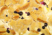 Blueberry french toast background — Stock Photo