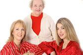 祖母、母と娘 — ストック写真