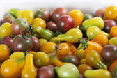 Baby heirloom tomatoes — Stock Photo