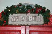 Santa's Grotto — Stock Photo