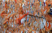 Recycled plastic bags — Stock Photo