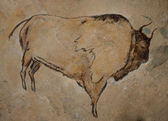 Cave Painting — Stock Photo