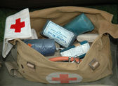 World War 2 Army First Aid Bag — Stock Photo