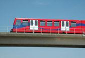 Docklands Light Railway, London — Stock Photo