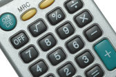 Calculator Close Up — Stock Photo