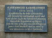 Cavendish Laboratory — Stock Photo