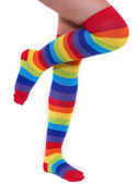 Rainbow Socks — Stock Photo