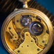 The ancient invention, a pocket watch - Stock Photo