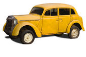 Old yellow car — Stock Photo