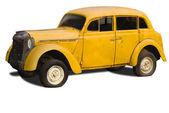 Old yellow car — Stock Photo