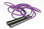 Purple Jump Rope — Stock Photo