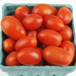 Tomatoes Small Organic Square — Stock Photo