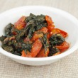Kale Tomato Appetizer — Stock Photo