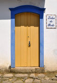 Door in Paraty — Stock Photo