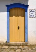 Door in Paraty — Stock Photo
