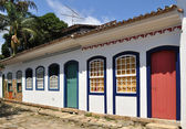Straat in paraty — Stockfoto