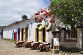 Restaurant in paraty — Stockfoto