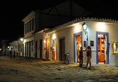 Paraty by night — Stockfoto