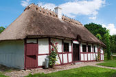 Old house from the funen village — Stock Photo