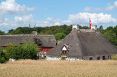 View over the funen village — Stock Photo