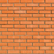 Light orange brick wall background and texture — 图库照片