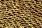 Viejo textura de grunge saco paño vanvas — Foto de Stock