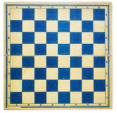 Old dirty retro chess board — Stock Photo