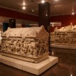 Stock Photo: Sarcophaguses