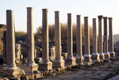 Colonnaded street — Stock Photo