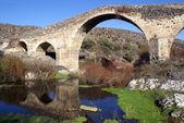 Water en bridge — Stockfoto