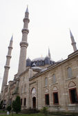 Mosque with minarets — Stock Photo