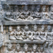Bas-relief in the temple — Stock Photo