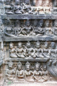 Bas-relief in the temple — ストック写真