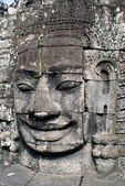 De khmer gezicht — Stockfoto