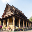 Wat in Vientiane — Stock Photo