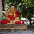 Buddha in red — Stock Photo #3613447