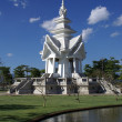 Stock Photo: Pagodand pond