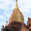 Stock Photo: Golden spire in Bagan