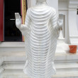 White Buddha — Stock Photo